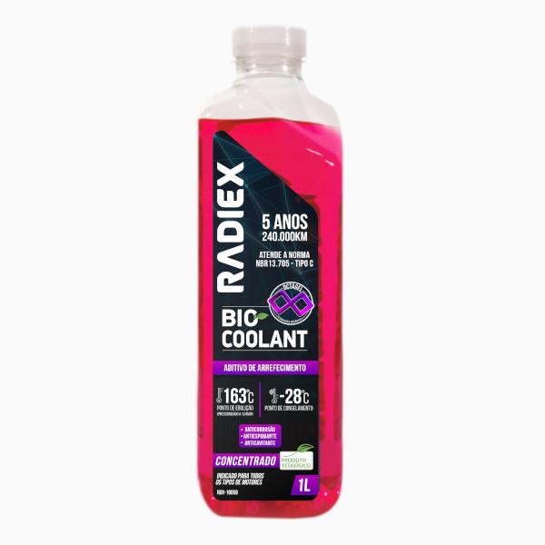 Aditivo de Arrefecimento – Bio Coolant Octagel Rosa – Concentrado